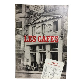 "1985 ""Paris Cafes Their Role in the Birth of Modern Art"" Book For Sale"