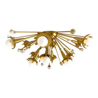 Jonathan Adler Robert Abbey Sputnik Flush Mount For Sale