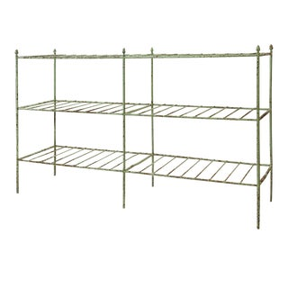 French Iron Etagere For Sale