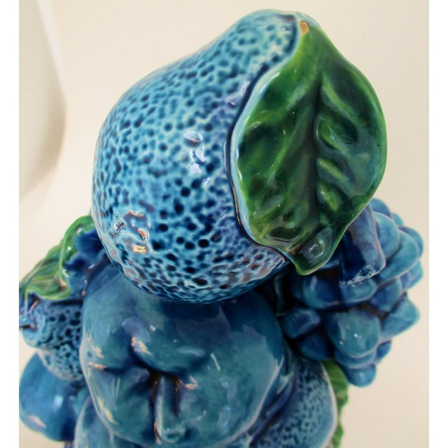 Vintage Porcelain Fruit Topiary For Sale - Image 9 of 9