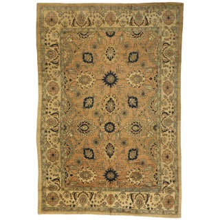 20th Century Persian Mahal Rug - 12′9″ × 18′9″ For Sale