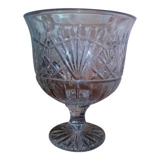 Irish Artisan Large Crystal Centerpiece or Wine Bucket