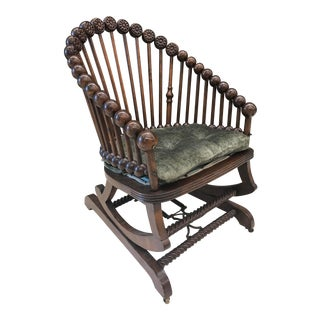 Hunzinger Lollipop Platform Rocking Chair For Sale