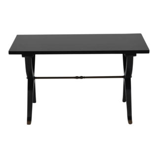 Chic French 1940s Lacquer Small Coffee Table or Side Table For Sale