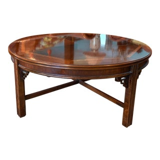 1970s Chippendale Lane Cocktail Table For Sale