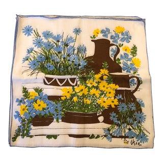 Vintage Vera Linen Napkins- Set of 4