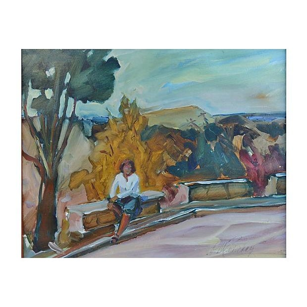 Francheschi Park Painting - Image 2 of 3