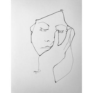 Doze Contemporary Drawing For Sale