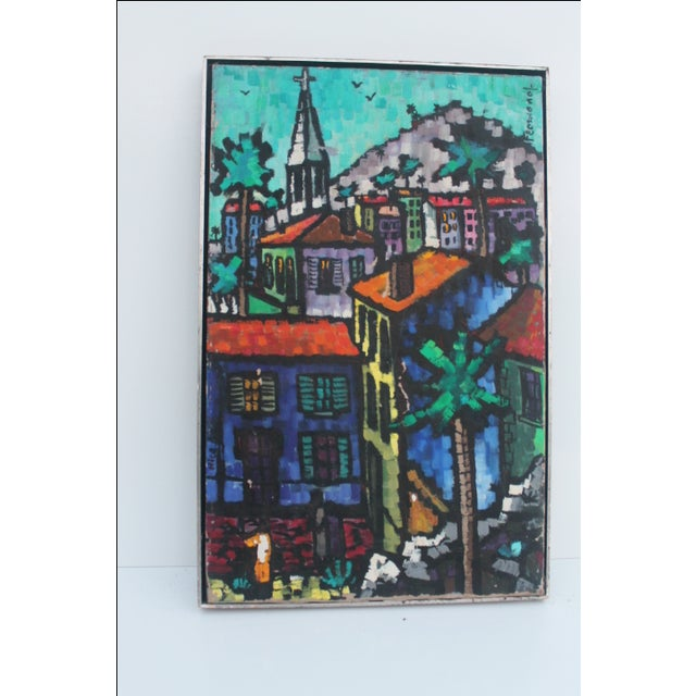 Cityscape Abstract Painting by Feomanol - Image 2 of 11