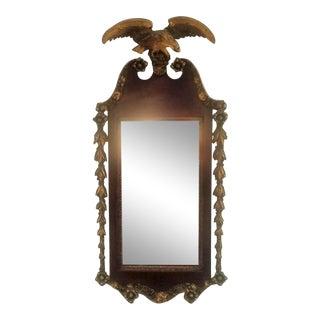 Federal Period Gilt Eagle Mirror For Sale