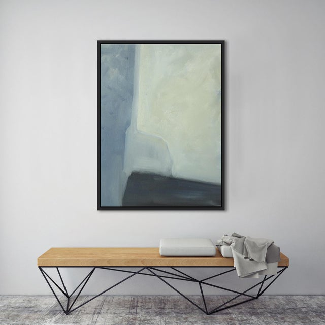 """Abstract Planes & Corners"" Framed Fine Art Giclée - Image 3 of 3"