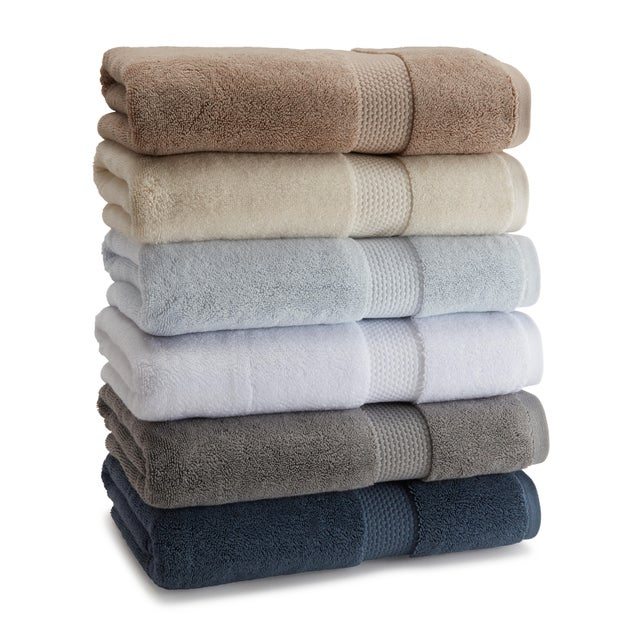 Crafted from 100% combed Aegean cotton, the Atelier towels are exceptionally thick and luxurious. The heavyweight bath...