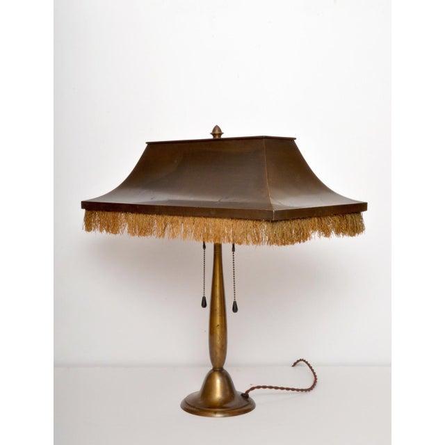 Metal Bag Turgi 1920s Desk Lamp/ Switzerland For Sale - Image 7 of 7