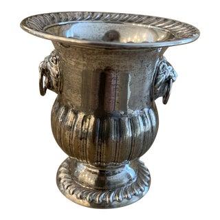 Sterling Silver Urn Form Cigarette Holder For Sale