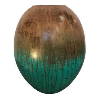 Artisan Glass Vase/Candleholder