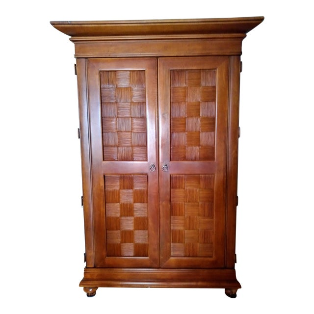 Stanley Furniture Wooden Armoire - Image 1 of 9