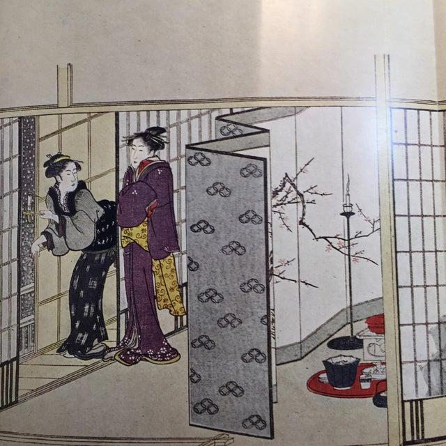 Utamaro Korin & Golden Screen Painting Books - Set of 3 For Sale - Image 10 of 11