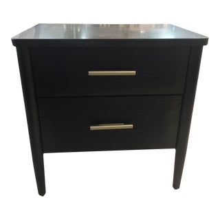 Contemporary Universal Furniture Langley 2 Drawer Nightstand For Sale