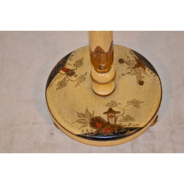 Asian Late 19th Century Chinoiserie Floor Lamp For Sale - Image 3 of 4