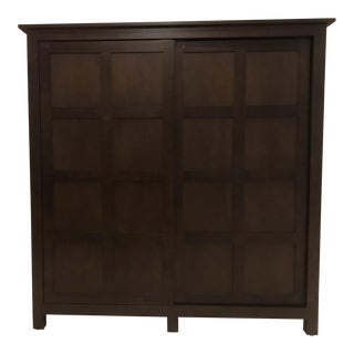Room & Board Bennett Mocha Armoire