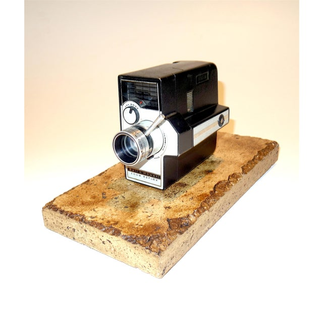 Art Deco Bell & Howell Zoom Reflex 8mm Vintage Camera Circa Mid 20th Century For Sale - Image 3 of 3