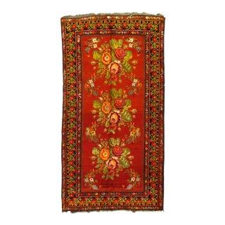 "Pasargad DC Antique Karabagh Rugs - 4'1"" X 8' For Sale"