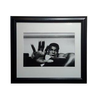 "Len Trievnor - Cassius Clay ""Gime Me Five"" Gelatin Silver Photograph For Sale"