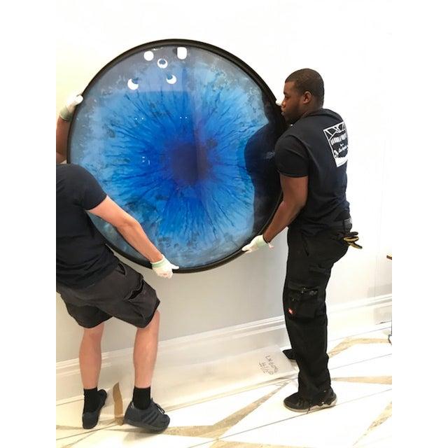 Customizable Ionian Iris - Convex Mirror by Tom Palmer - Image 9 of 11