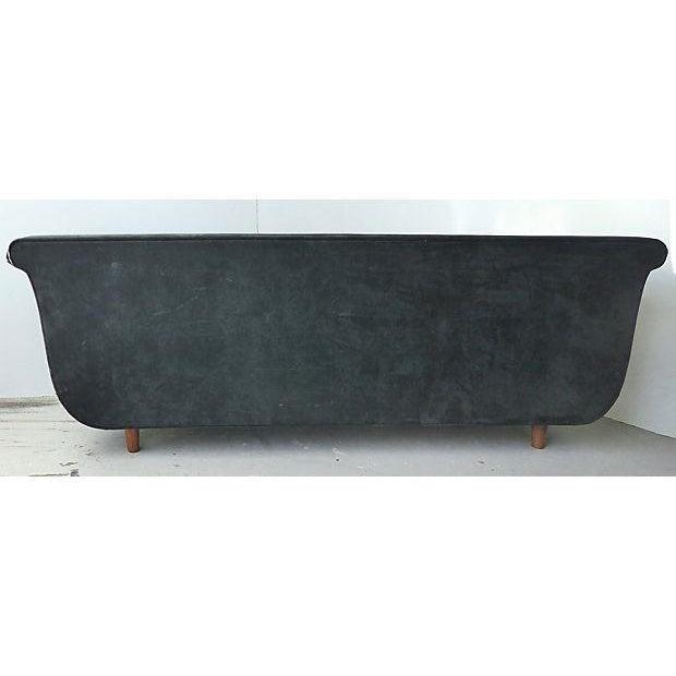 1980s Biedermeier Style Italian Modern Sofa For Sale - Image 5 of 9