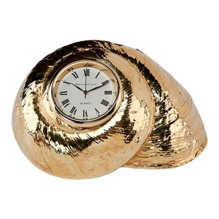 Rosy Top Clock, Gilded For Sale