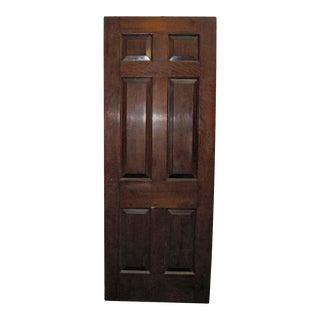 Raised Panel Mahogany Door