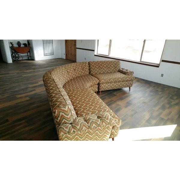 Danish Modern Mid-Century Kroehler Sectional Sofa For Sale - Image 3 of 4