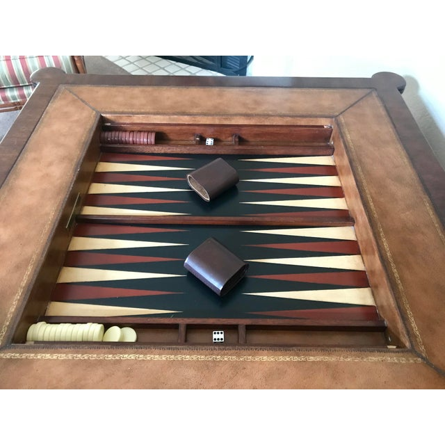 2000 - 2009 Ethan Allen Game Table For Sale - Image 5 of 9
