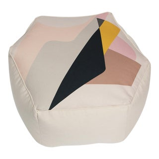 Hepto Pouf by Gabriela Valenzuela-Hirsch and Barbara Cuevas For Sale