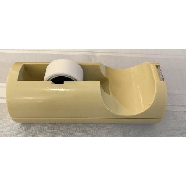 Mid-Century Modern Italian Yellow Tape Dispenser - Image 3 of 8