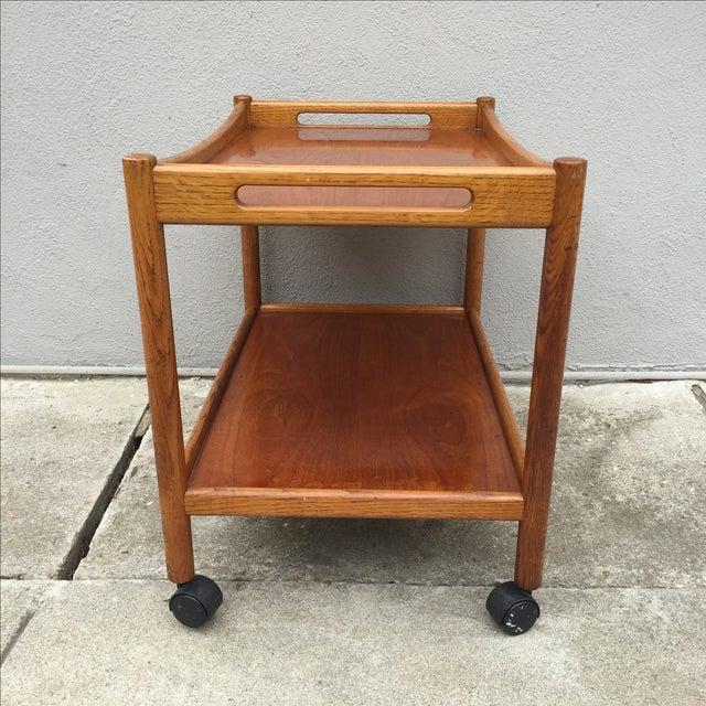 Hans Wegner Danish Mid-Century Bar Cart - Image 5 of 7