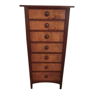 Stickley Harvey Ellis Solid Cherry Lingerie Chest For Sale