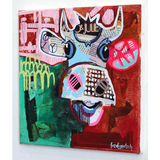 """Oh Julie"" Original Artwork by Fredi Gertsch For Sale In Los Angeles - Image 6 of 9"