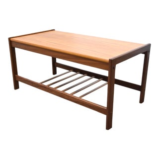 Danish Teak Petite Coffee Table For Sale