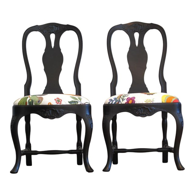 Classic Rococo Chair - Josef Frank - a Pair (DaVinci Collection) For Sale