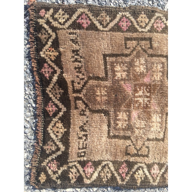 "Vintage Anatolian Turkish Rug - 1'7"" X 2'10"" - Image 4 of 9"