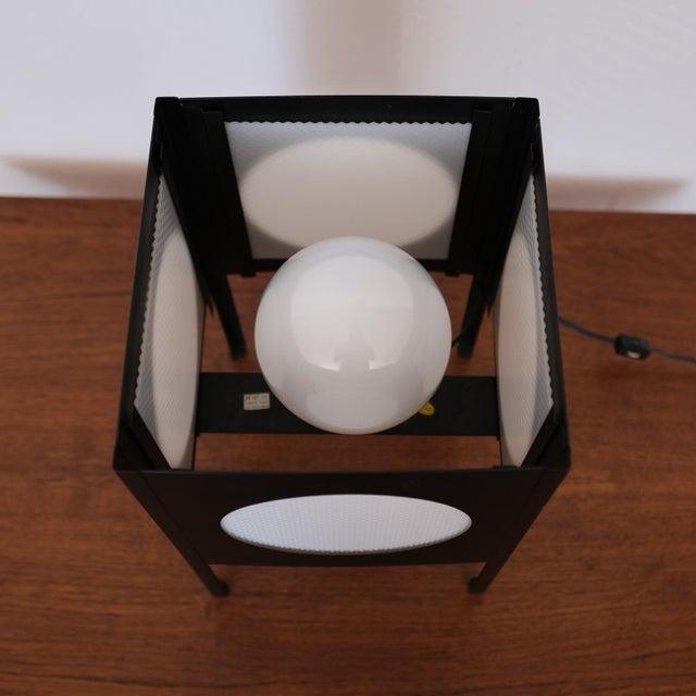 Metal Metal Cube Lamp, 1960s For Sale - Image 7 of 8