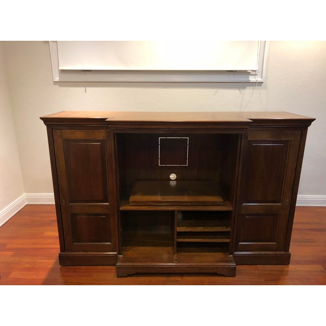 Grange Grange Louis-Philippe Entertainment Center/Armoire For Sale - Image 4 of 11