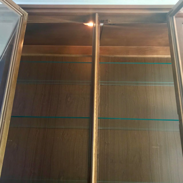 Brutalist 1960s Brutalist Kent Coffey Perspecta Credenza and Hutch For Sale - Image 3 of 12