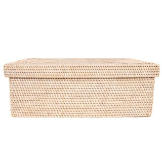 Artifacts Rattan Rectangular Storage Box With Lid Preview