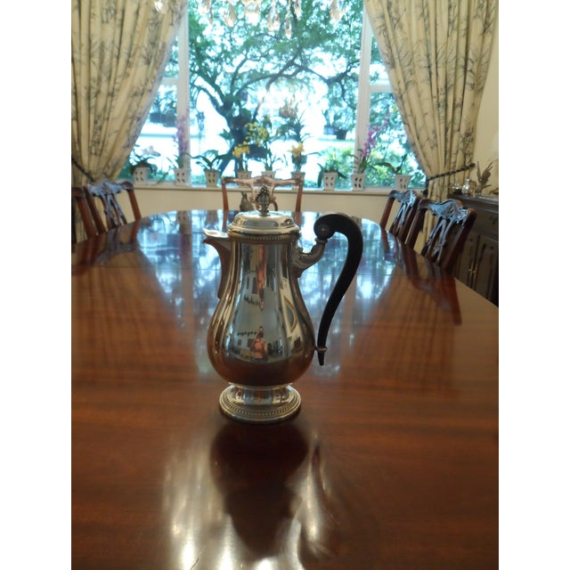 Christofle 1990s Christofle Silver Plated Tea Set - 6 Pieces For Sale - Image 4 of 9