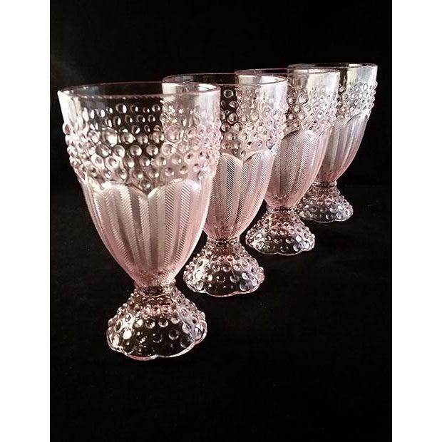 Gorham Iced Tea Crystal Goblets - Set of 4 - Image 5 of 6