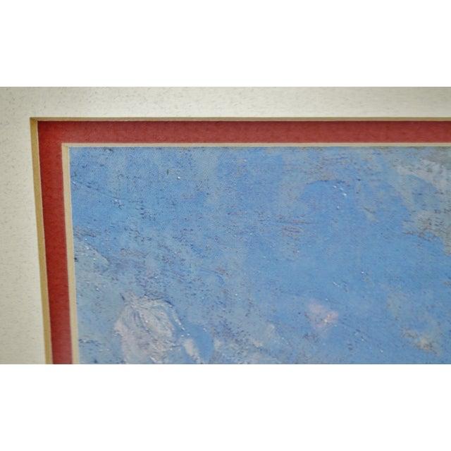Vintage Framed Frank Weston Benson Summer Seascape Print For Sale - Image 9 of 11