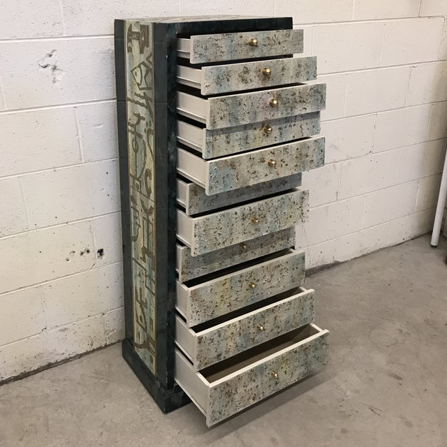 Vintage Artmax Deco Lingerie or Jewelry Chest For Sale - Image 4 of 13