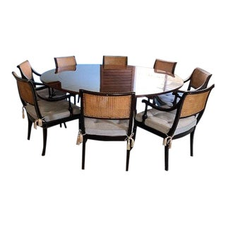 Transitional Stanley Furniture Dining Set - 9 Pieces For Sale